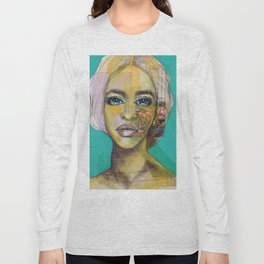 Bea Turquoise Long Sleeve T-shirt