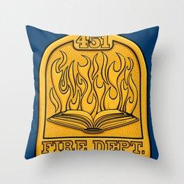 Fire Department 451 Throw Pillow
