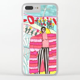 Love is universal Clear iPhone Case