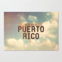 puerto rico Canvas Prints featuring Puerto Rico by Ákos Kőrös