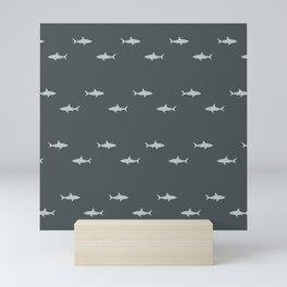 Sharks Pattern Mini Art Print