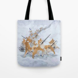 Cry Heckin' and Let Slip the Doges of War Tote Bag