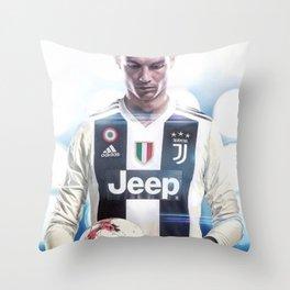 Cristiano Ronaldo To Juventus Throw Pillow