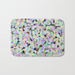 Frooty Faces Bath Mat