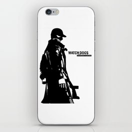 Watch dogs (aiden pearce) iPhone Skin