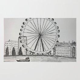London Eye Rug