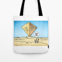 Pyramid of Wealth Tote Bag
