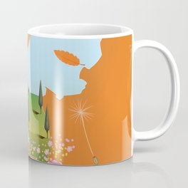 Holland travel poster Coffee Mug