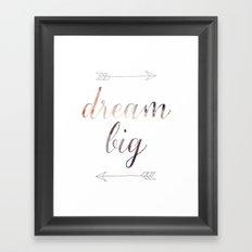 Dream Big No. 2 Framed Art Print