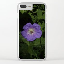 Lost purple Clear iPhone Case