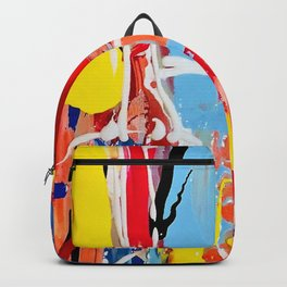 Anchored to Happiness Backpack