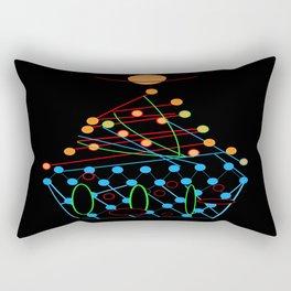 Sci-fi cupcake Rectangular Pillow