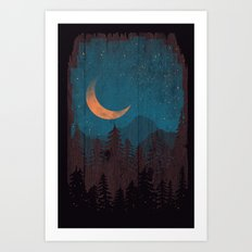 Those Summer Nights... Art Print
