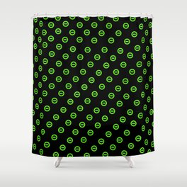negative forever Shower Curtain