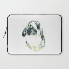 Fluffy Bunny Laptop Sleeve