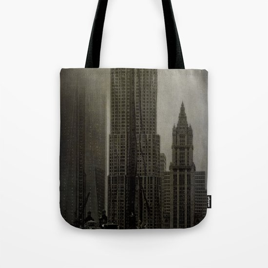 Concrete, Steel & Glass Tote Bag