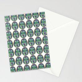 Happy Rainbow Brain Scan Stationery Cards