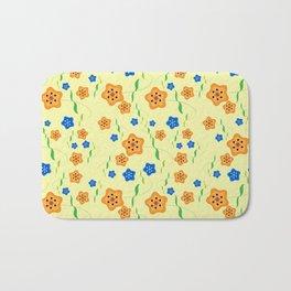 Floral-007 Bath Mat