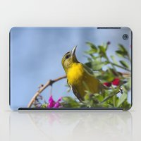 baltimore iPad Cases featuring Baltimore Oriole by Christina Rollo