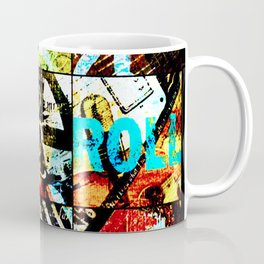Rock and Roll Contemporary Coffee Mug