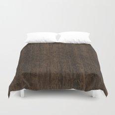 Smoked Etimoe Wood Duvet Cover