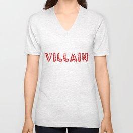 Villain Unisex V-Neck