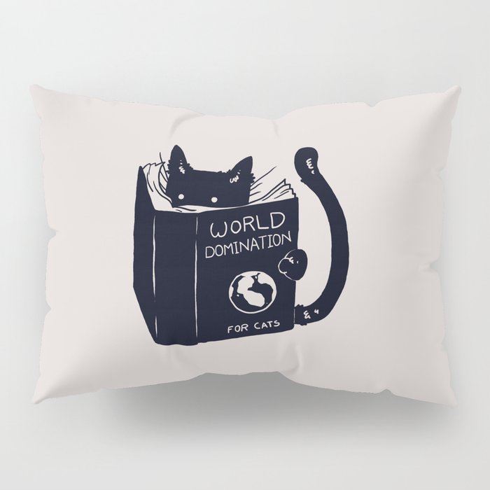 World Domination For Cats Pillow Sham