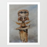 leonardo Art Prints featuring Leonardo by Ed Schaap