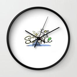 Coz It's Science Wall Clock