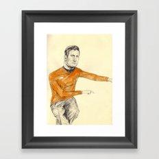 Kirk Framed Art Print