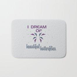 Beautful Butterflies Bath Mat