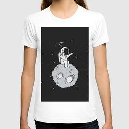 Astronot Handy Talkie T-shirt