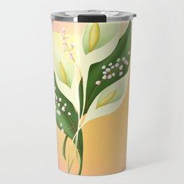 Calla Lillies Travel Mug