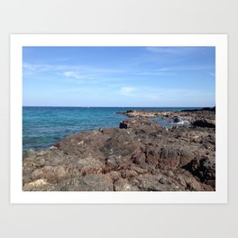 Oman Beach Art Print