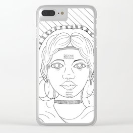 Fulani Clear iPhone Case