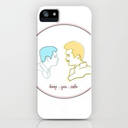 Keep You Safe - Ste & Brendan iPhone Case