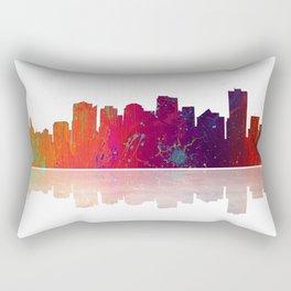 Skyline Edmonton 1 Rectangular Pillow