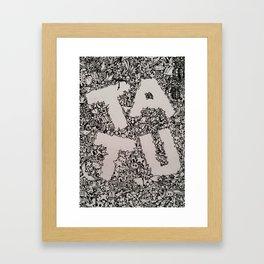 Tatu Framed Art Print