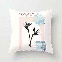 // Royal Gardens 01 Throw Pillow
