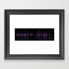 cello & chime Framed Art Print
