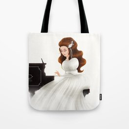 Liesl in Labyrinth Tote Bag