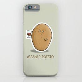 Mashed Potato iPhone Case