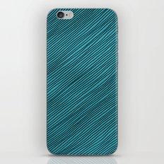 Stripes - turchese iPhone & iPod Skin