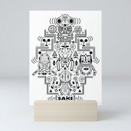 Etnik Mini Art Print