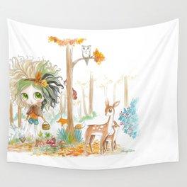 Nikki & Friends - Blythe Doll Inspiration Wall Tapestry