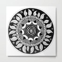 Datura Seed Pod Metal Print