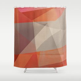 Flood Triangles Shower Curtain