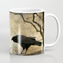 Crow Caws Coffee Mug