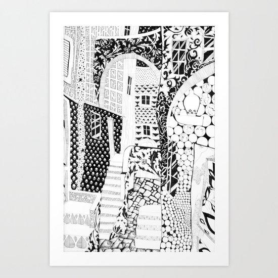 New Way Art Print