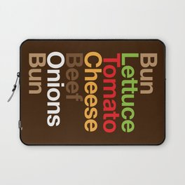 Burgervetica Laptop Sleeve